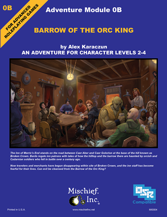0B Barrow of the Orc King