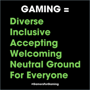 hashtag Gamers For Gaming