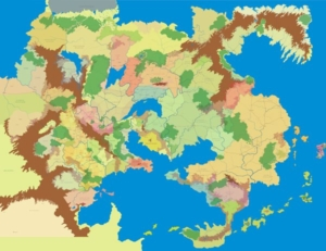World of Greyhawk Map